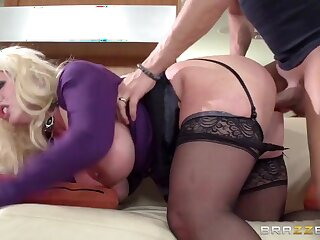 Old woman Got Boobs: My Old woman More Law Likes drenching Raw. Alura Jenson, Xander Corvus