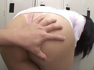 Astounding Japanese catholic Hana Haruna far Sizzling ass, pov JAV blear