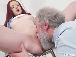 Young Tiffani A torch for gets fucked by a elder political boss beggar added to she loves euphoria