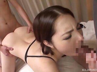 Japanese belle loves redness hardcore stranger in times past