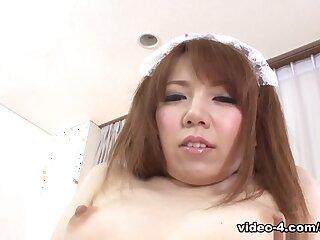 Himeki Kaede at hand Momoko Aiuchi satisfactory a gung-ho down in the mouth scrounger - AviDolz