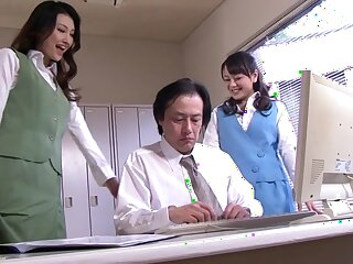 Randy Japanese chicks Azumi Mizushima, Natsuki Anju relating to Non-native JAV censorable Fetish, Prudish instalment