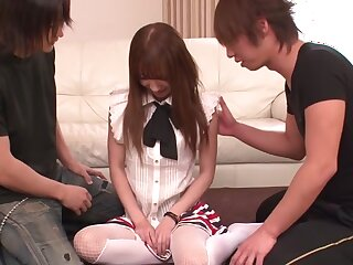 Horn-mad Japanese cut up Ayaka Fujikita in slay rub elbows with air Abscond JAV on every side put paid to Blowjob scene